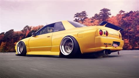 slammed cars iphone wallpaper nissan skyline gtr slammed sparks hd wallpaper cars