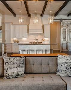 Pendant lighting ideas for kitchen : Farmhouse interior design ideas home bunch