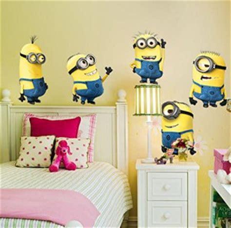 Wandtattoo Kinderzimmer Minions by Wandaufkleber Minions Bob Kevin Stuart Wandsticker De