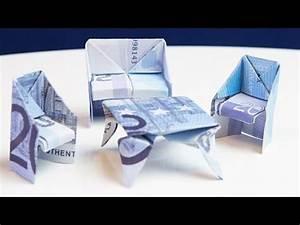 Geldscheine Falten Haus : geschenk zum einzug tisch aus geld falten doovi ~ Lizthompson.info Haus und Dekorationen