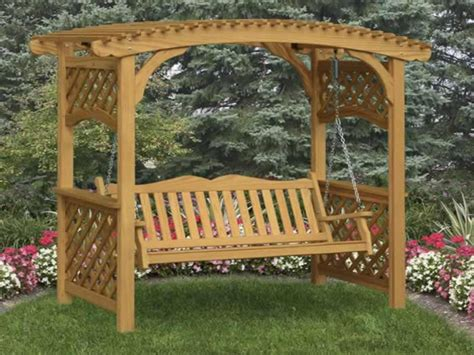 Garden Bench With Trellis by Covered Benches Trellis Bench Garden Arbor With Bench