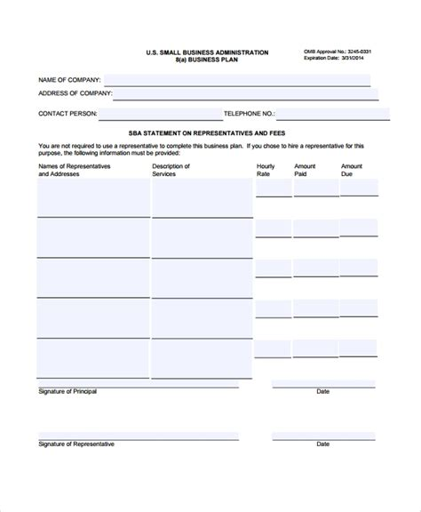 sle business plan outline template 9 free documents in pdf word