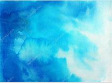 Abstract blue sky watercolor background — Stock Photo