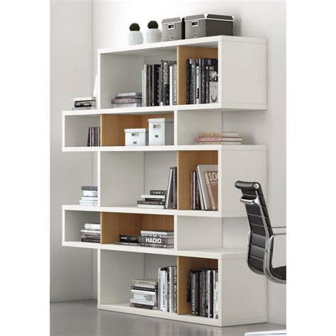meuble bureau bibliotheque bibliotheque asymetrique