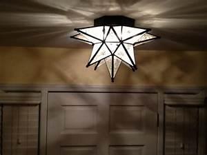 Moroccan Star Flush Mount Ceiling Light Fixture Light