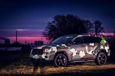 camo jeep grand cherokee jeep grand cherokee in camouflage autoglas folierung