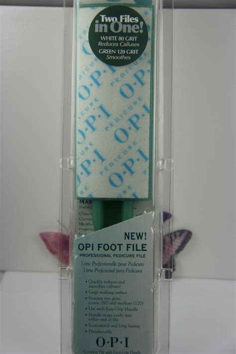 manicurepedicure opi foot file professional  grit