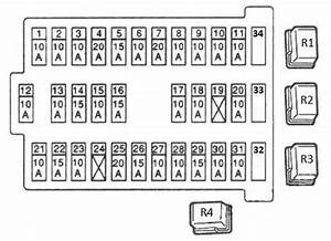2000 Mercede E320 Fuse Box Diagram