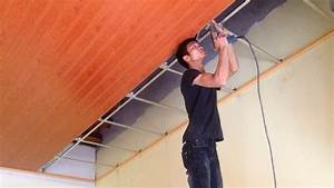 How To Install Plastic Panels On The Ceiling