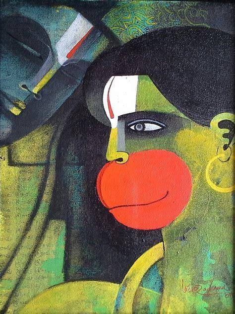 Rama & Hanuman by artist Appam Raghav ? , Painting