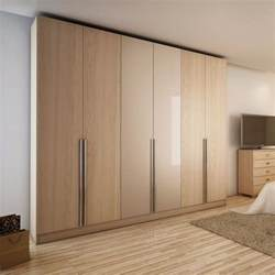 Cymax Bedroom Sets by Manhattan Comfort Eldridge 4 Drawer Armoire In Oak Vanilla