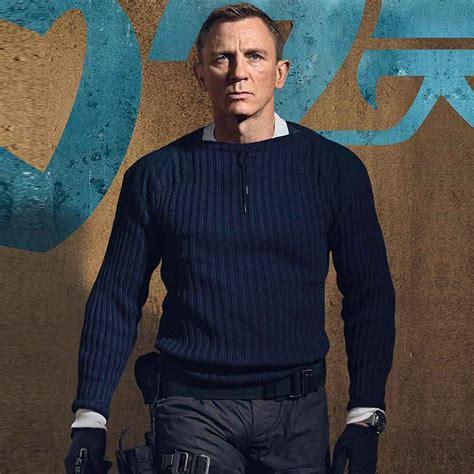 James Bond Sweater | No Time to Die Daniel Craig Sweater