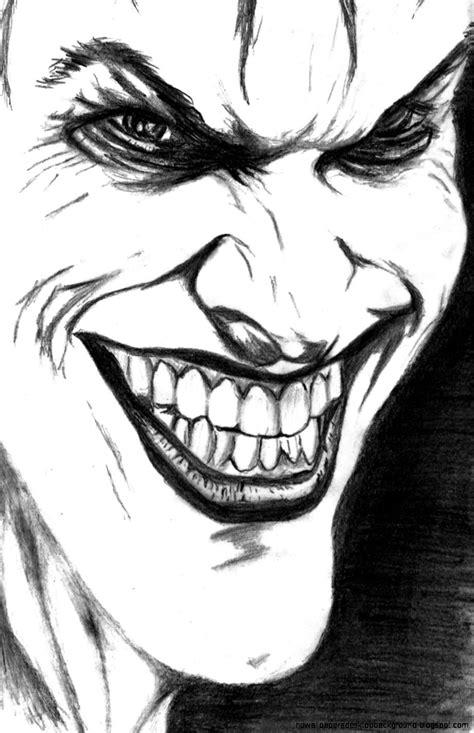 Cool Joker Drawings Pencil