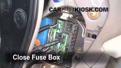 1999 Acura Cl V6 Fuse Box by Interior Fuse Box Location 1998 2002 Honda Accord 2000
