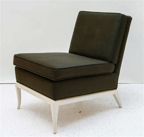 slipper chair and ottoman by t h robsjohn gibbings at 1stdibs
