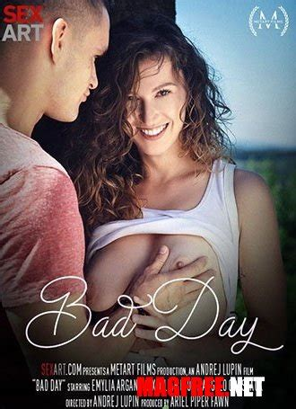 emylia argan bad day   magazines