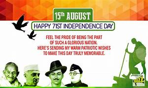 Independence Day 2017 Wishes: Best Happy Independence Day ...