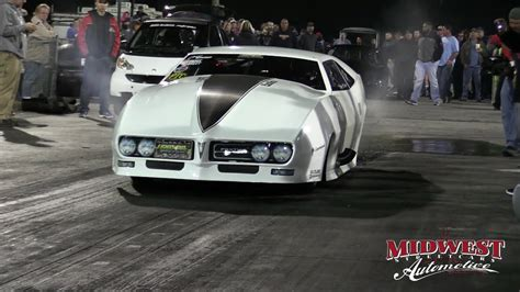 fueltech race cars lights out 7 big chief and murder ripping up the at lights