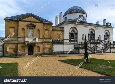 Chiswick House Palladian Villa 1729 Burlington Stock Photo
