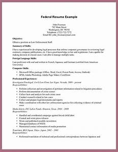 Federal resume example resume template 2018 for Free government resume templates