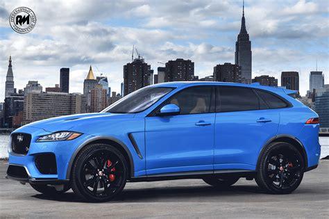 nuova jaguar  pace model year  arriva la versione svr
