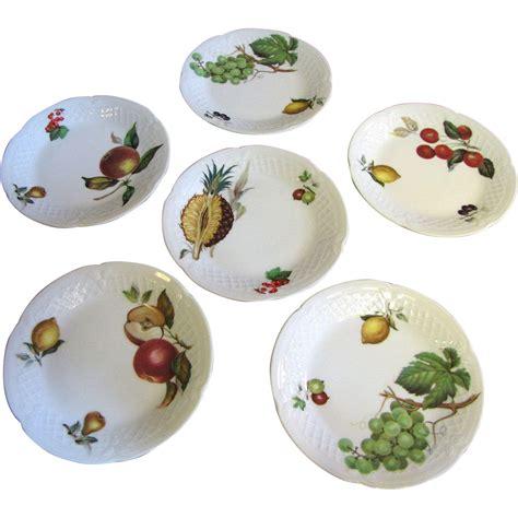 canape limoges set of 6 philippe deshoulieres porcelain limoges