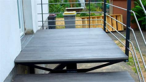 escalier ext 233 rieur marches en gr 232 s c 233 ramique metal concept escalier ferronnerie d