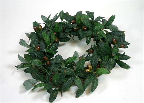 olivenkranz mit fruechten cm ft kranz tuerdekoration ebay