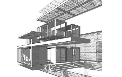 First Shipping Container House In Mojave Desert By Ecotech