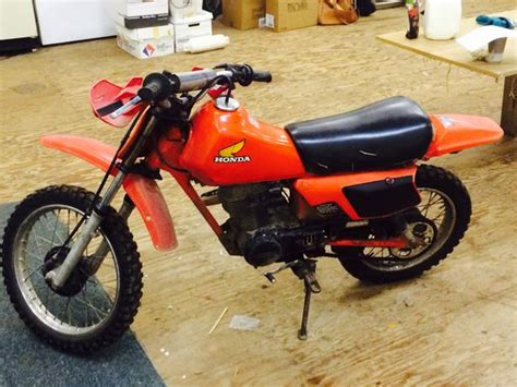 1983 Honda 80cc Dirt Bike Outside Victoria, Victoria