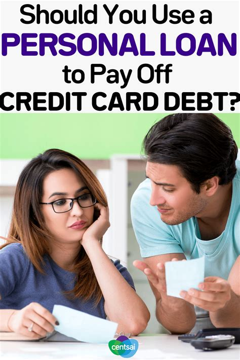 If you have a personal loan for bad credit, payday loan, auto title loan or something similar, your annual percentage rate can be in the triple digits. Using a Personal Loan to Pay Off Credit Card Debt | CentSai