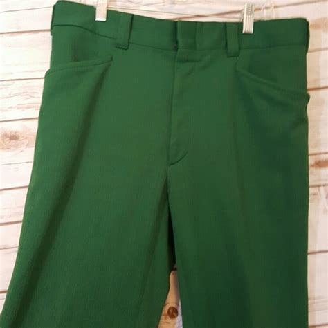 Vintage  {vintage} Forest Green Leisure Suit Pants From