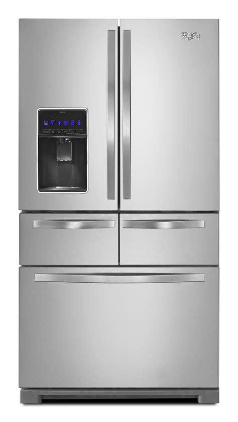 bottom drawer freezer whirlpool wrv986fdem 26 cu ft door bottom freezer