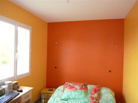 peinture de chambre à coucher emejing chambre a coucher orange et gris pictures