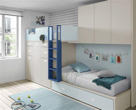 chambre garon lit superpose chambre enfant avec lit superpos 233 et armoire meubles ros