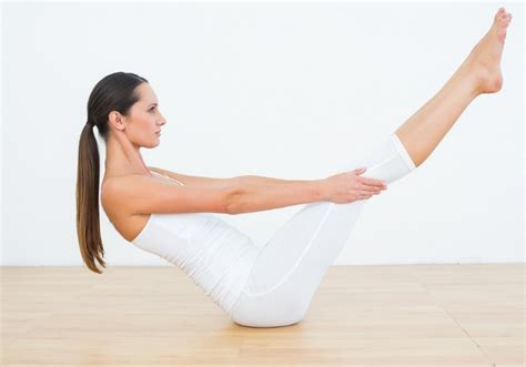 Boat Pose Pic by Weight Loss Five Best Poses For A Flat Stomach