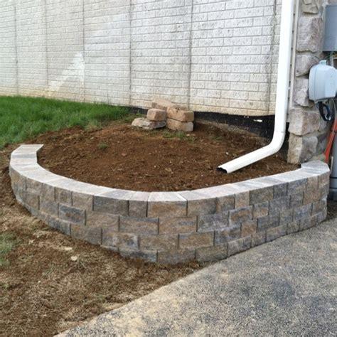 small retaining wall installation garden tips