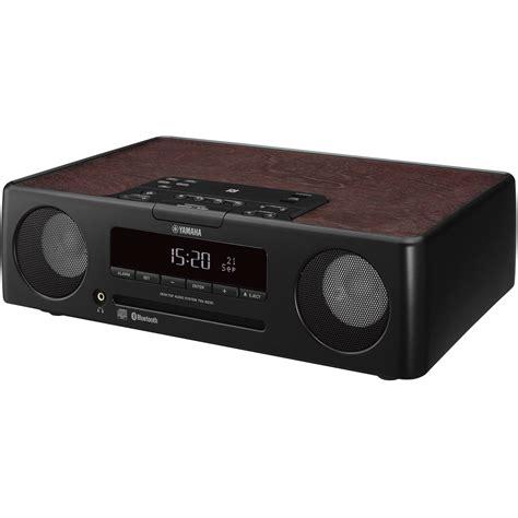 Tabletop Radio Cd Player by Yamaha Tsx B235 Desktop Audio System Black Tsx B235bl B Amp H