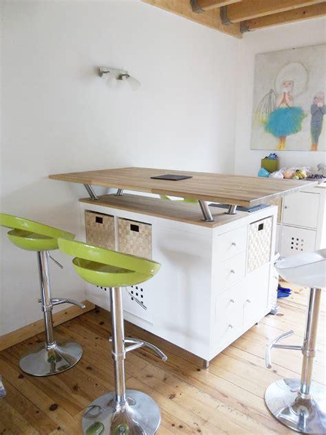 fabriquer table cuisine et ailleurs ilot bar de cuisine au 303 home deco
