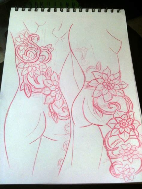 awesome thigh tattoos