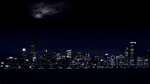 Dark City Background WallpaperSafari