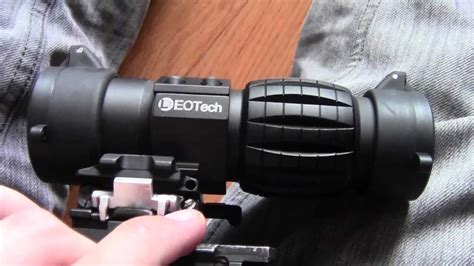 magnifier floor l reviews ea gear eotech replica 3x magnifier review youtube