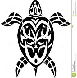Vector Tribal Turtle Tattoo Designs