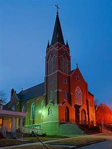 Saint Mary Roman Catholic Church, in Glasgow, Missouri ...
