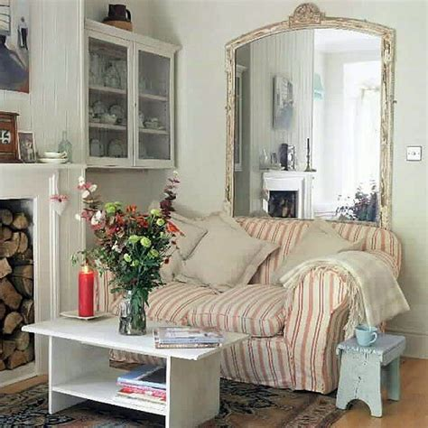 shabby chic small spaces small space vintage living rooms