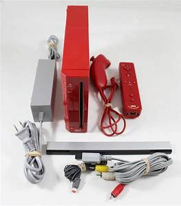 Wii Red Console Used