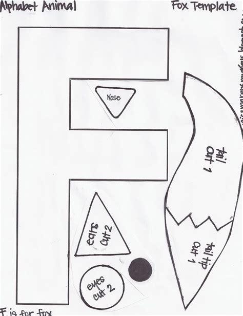 miss maren s monkeys preschool fox template january 791 | 1f1cd9038c87aac141247c4b7d2cb607 alphabet letter crafts abc crafts