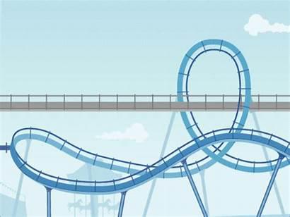 Volatile Market Coaster Roller Animation Dribbble