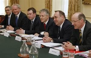 John Swinney in David Cameron & Nick Clegg Hold Joint ...