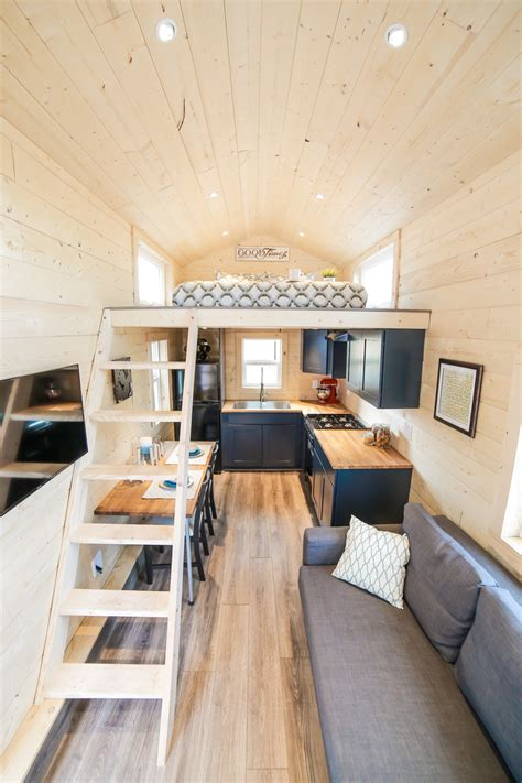 tiny dream home  wheels   sleeping lofts idesignarch interior design architecture